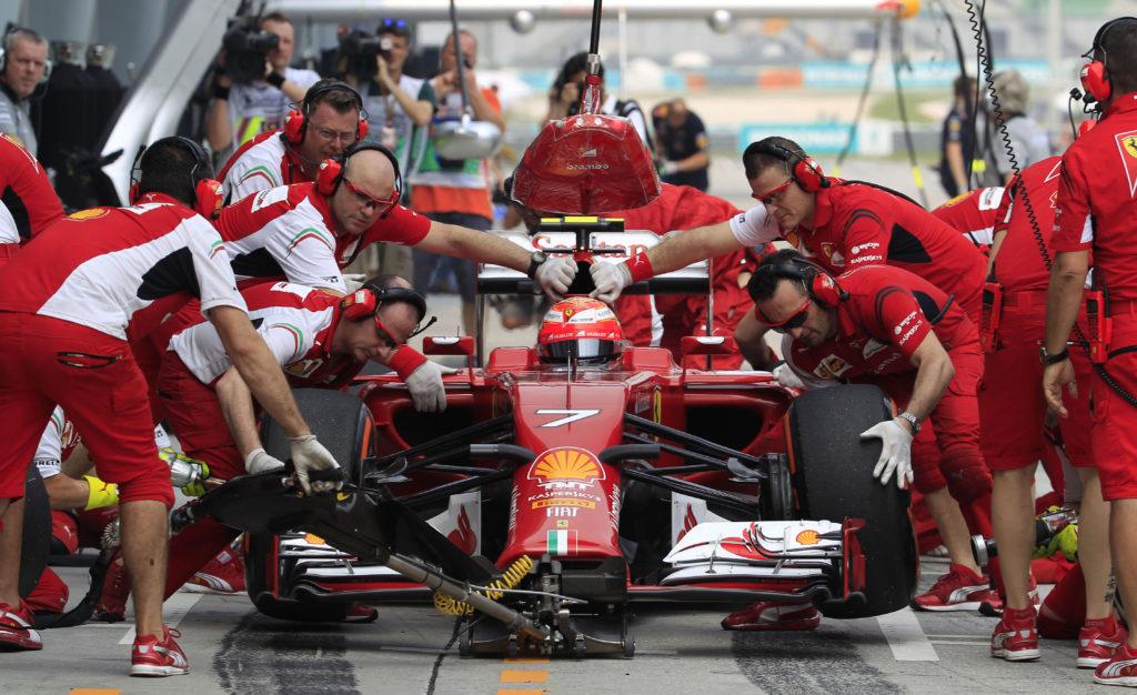 formula one pit stops