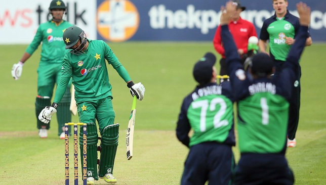 ireland cricket team against pak