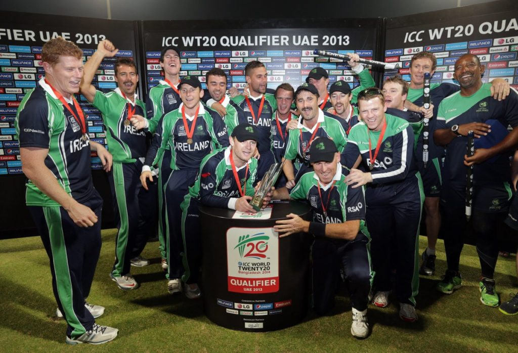 ireland cricket team winner