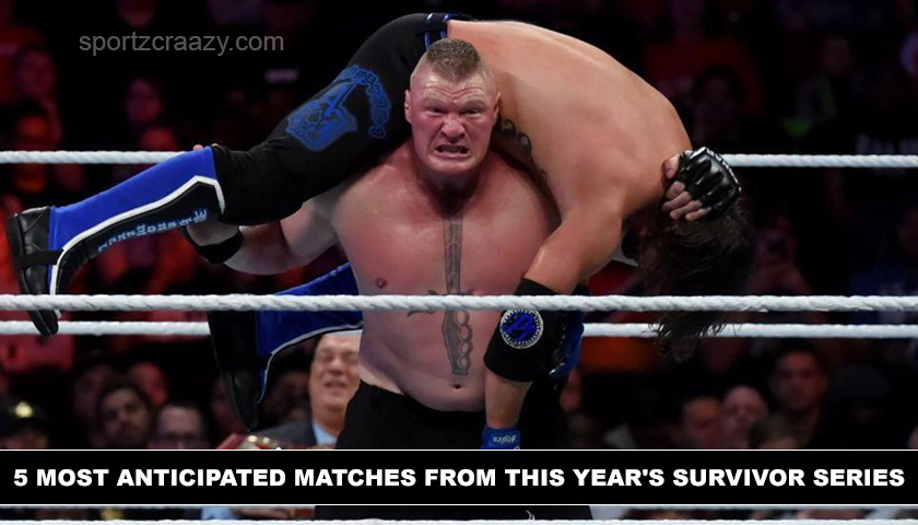 5 Most Anticipated Matches from this Year's Survivor Series
