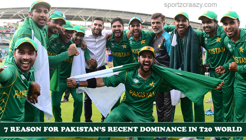 7 reason for Pakistan's recent dominance in T20 World