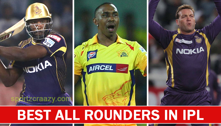 Best All Rounders in IPL