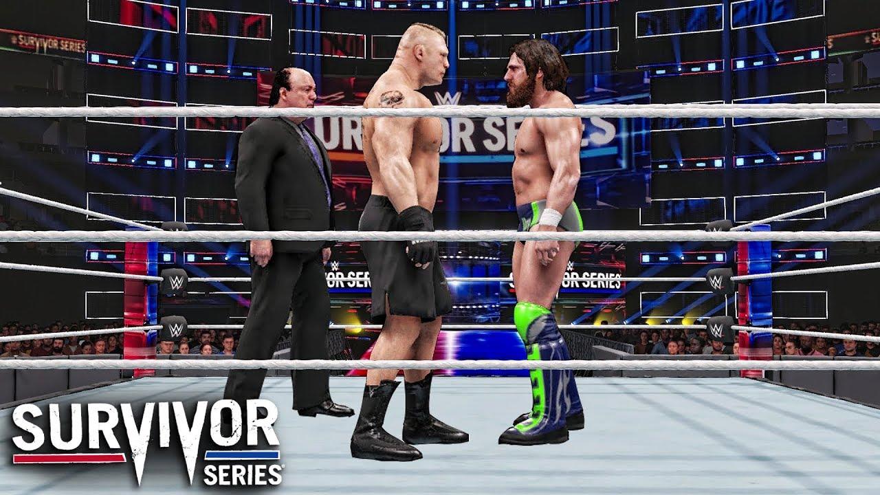 Brock Lesnar vs Daniel Bryan (Champion vs Champion Match)