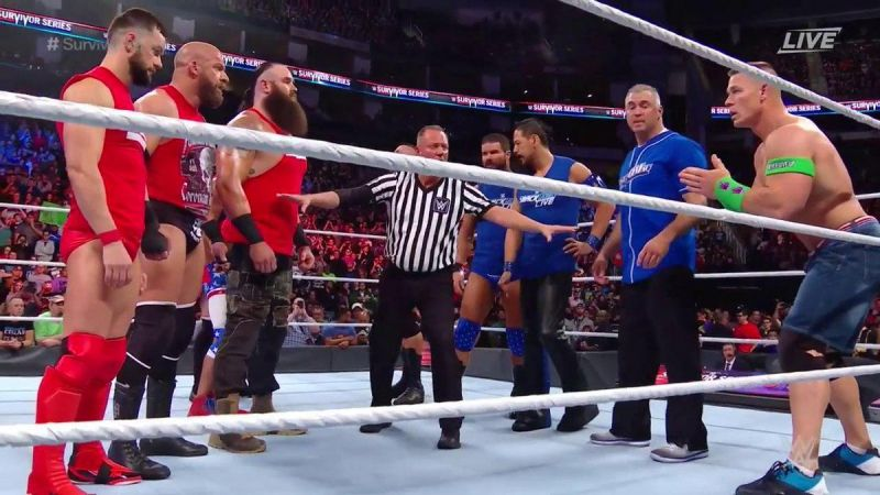 Men's Survivor Series Elimination Match (RAW vs Smack down)