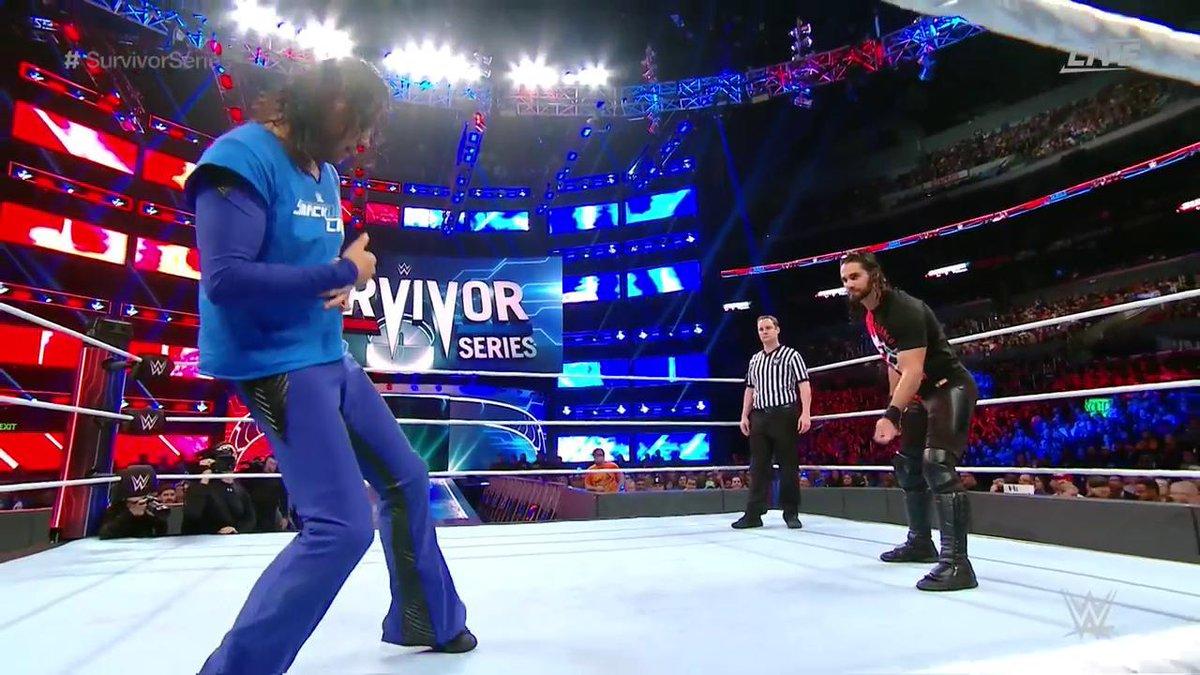Seth Rollins vs Shinsuke Nakamura ( Mid card Champions Event)