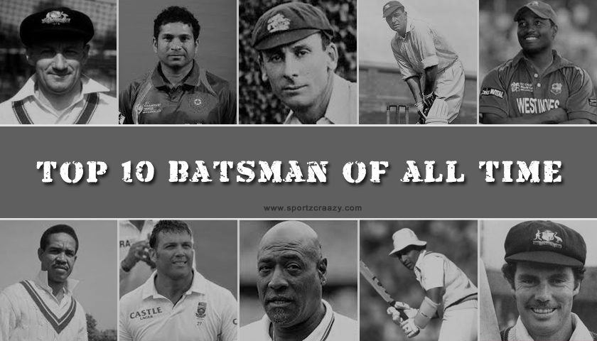 Top 10 batsman of all time