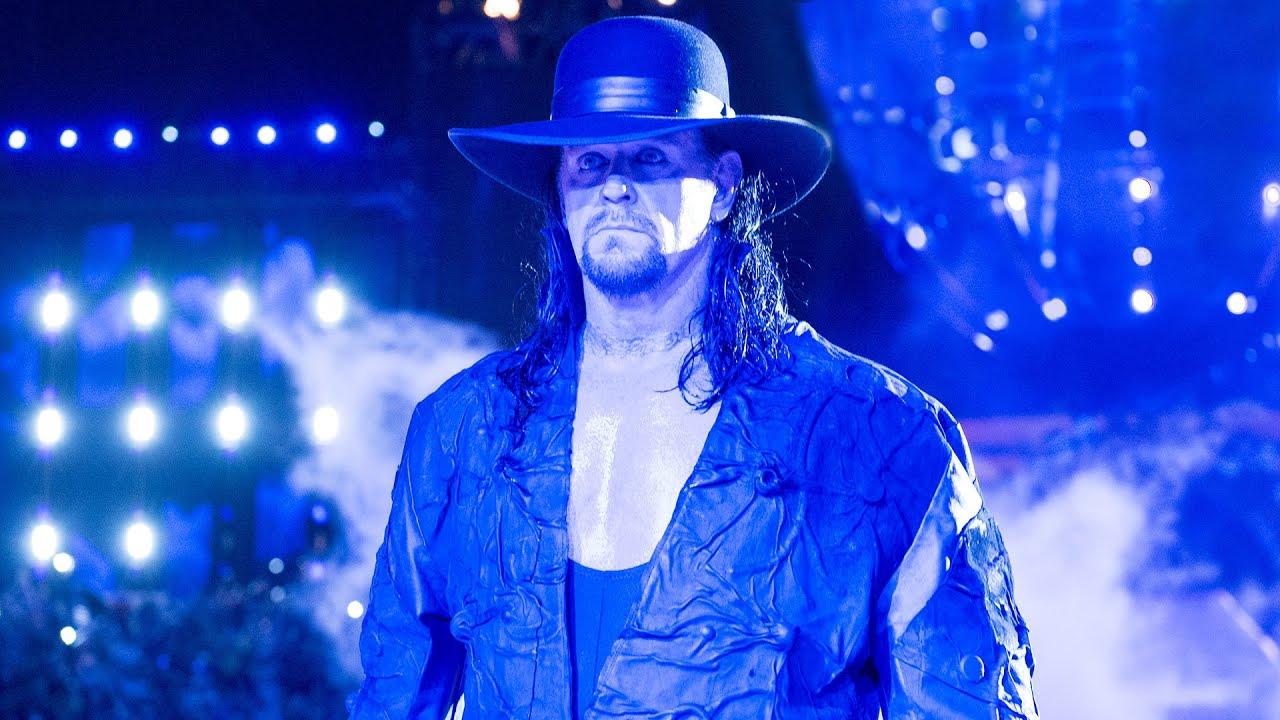Undertaker in Monday Night RAW