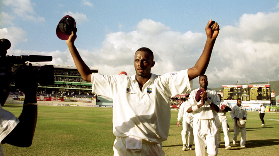 West Indies cricket team in 2000