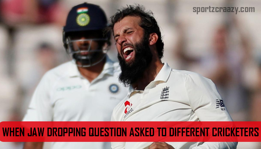 When Jaw Dropping Question asked to Different Cricketers