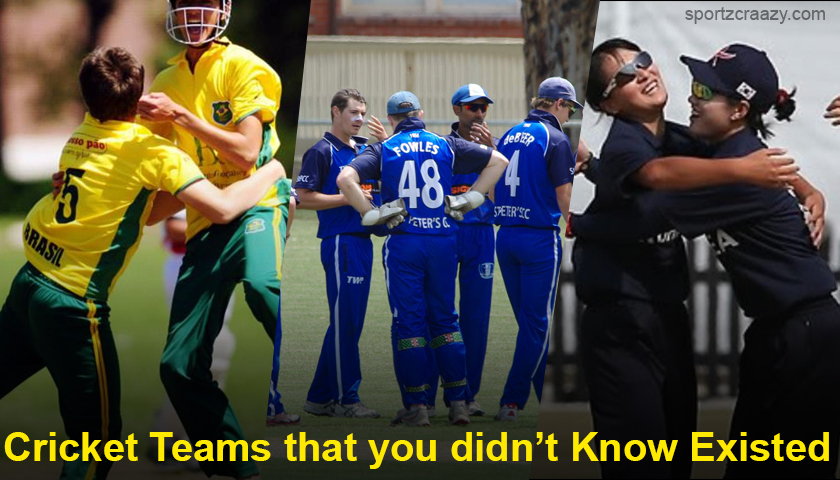 Cricket Teams That You Didn't Know Existed