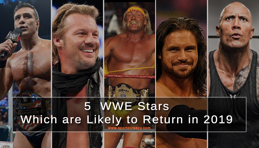 5  WWE Stars Which are Likely to Return in 2019