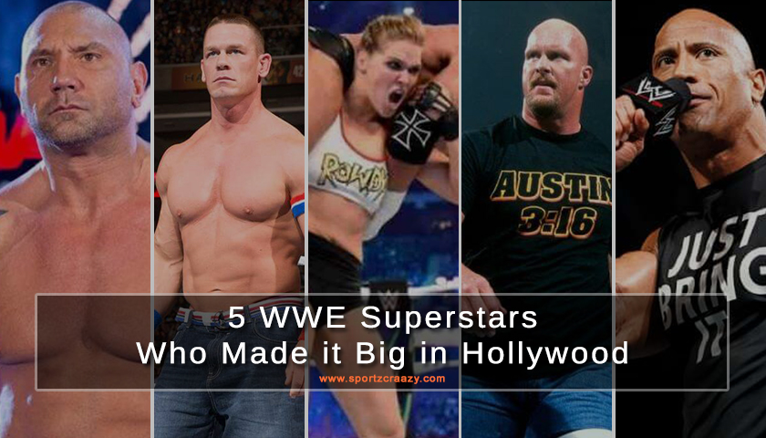 5 WWE Superstars Who Made it Big in Hollywood