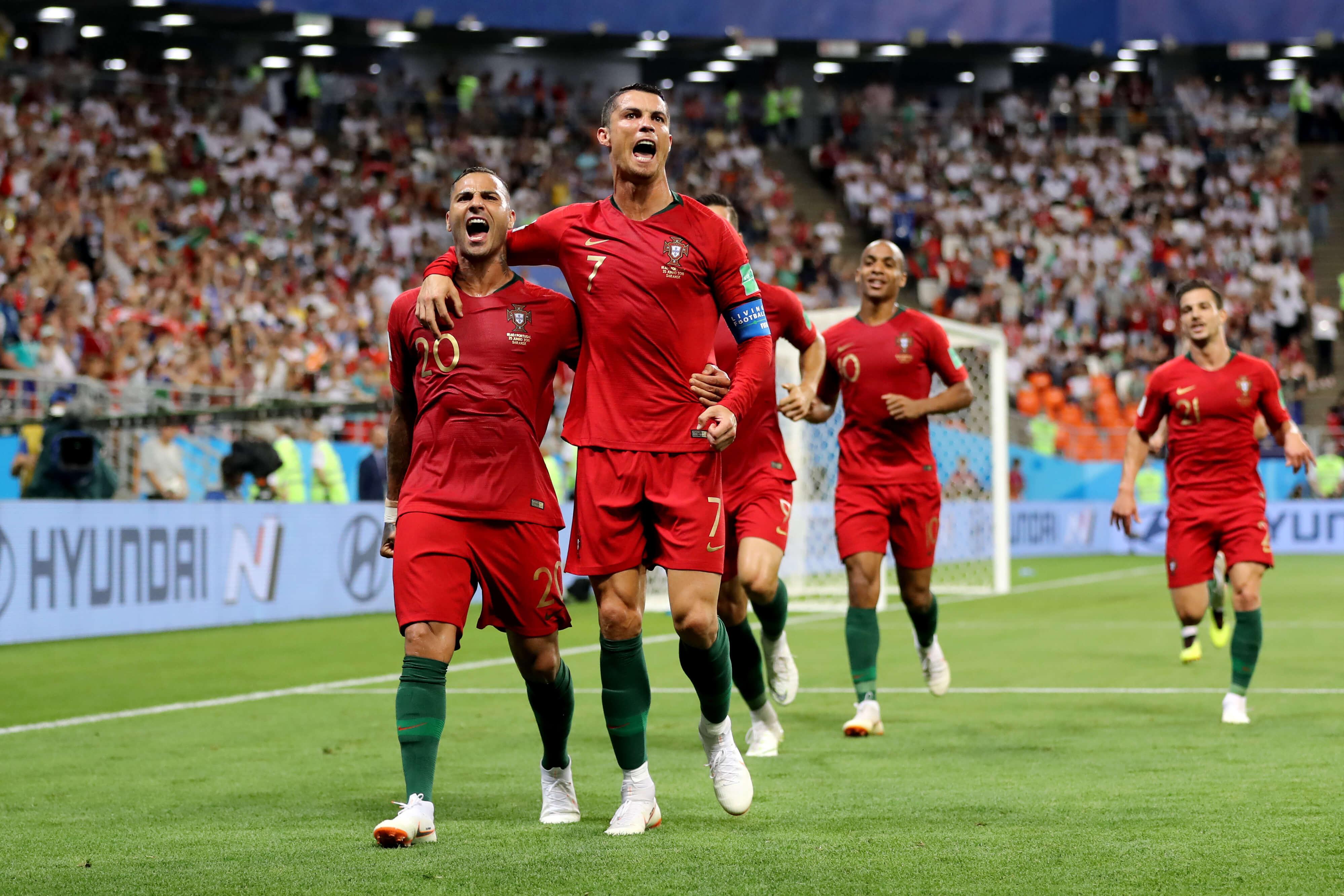 Cristiano Ronaldo Leading Portuguese National Team