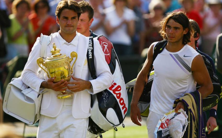 Federer-Nadal Wimbledon final (2007)