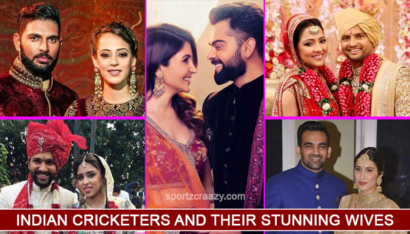 Indian Cricketers and their Life Partners