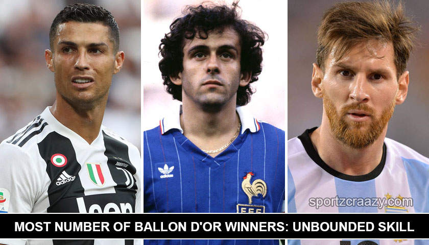 5 Most Number Of Ballon d'Or Winners: Unbounded Skill