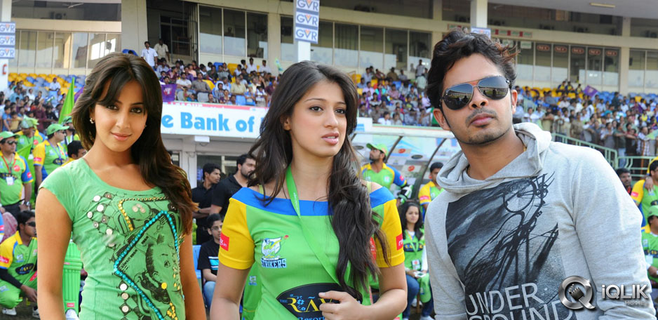 Raai Laxmi with sreesanth