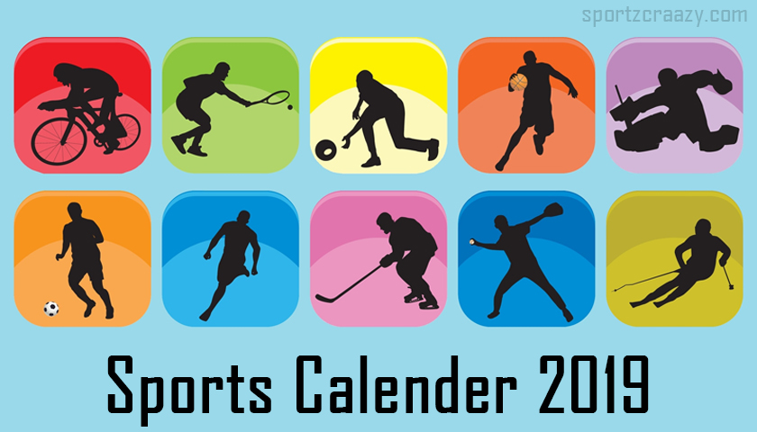 Sports Calender 2019