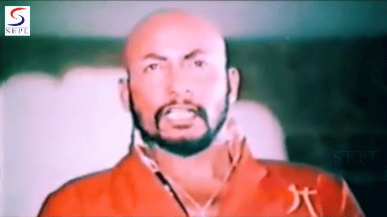 Syed Kirmani in Kabhi Ajnabi movie