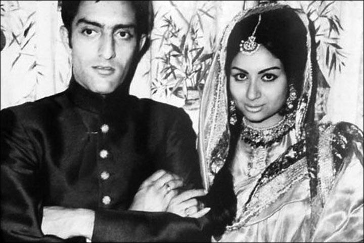 Tiger Pataudi and Sharmila Tagore