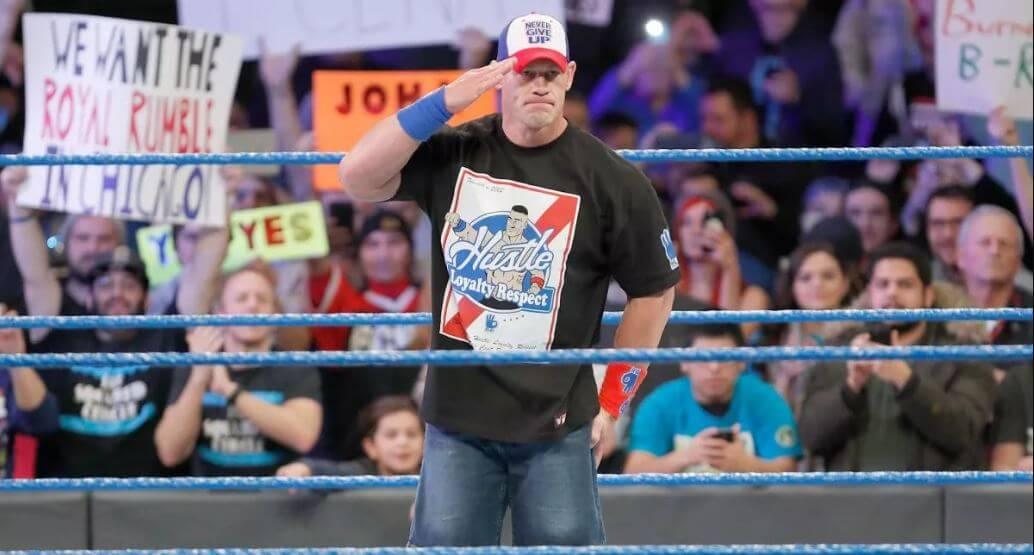 WWE stars in Ring