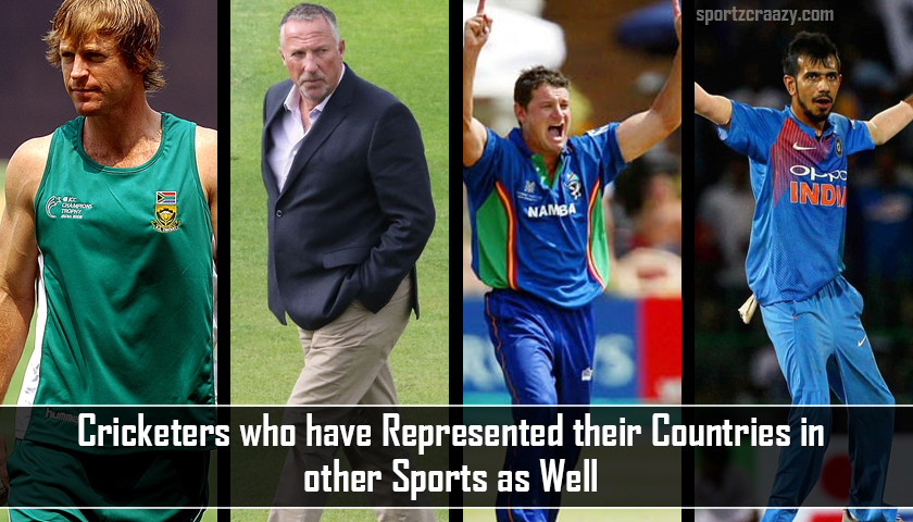 Cricketers who have Represented their Countries in other Sports as Well