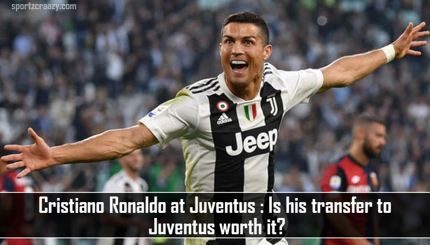 Cristiano Ronaldo at Juventus
