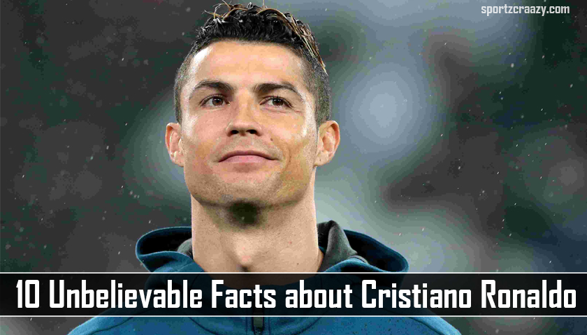 Facts about Cristiano Ronaldo