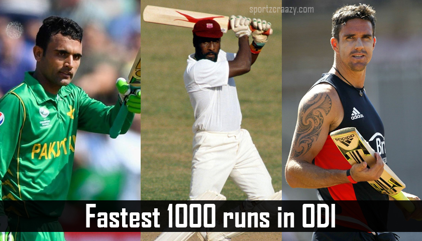 Top 10 Players To Reach The Fastest 1000 Runs In ODI