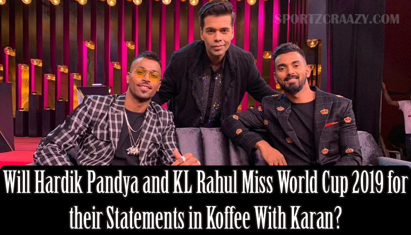 Hardik Pandya and KL Rahul