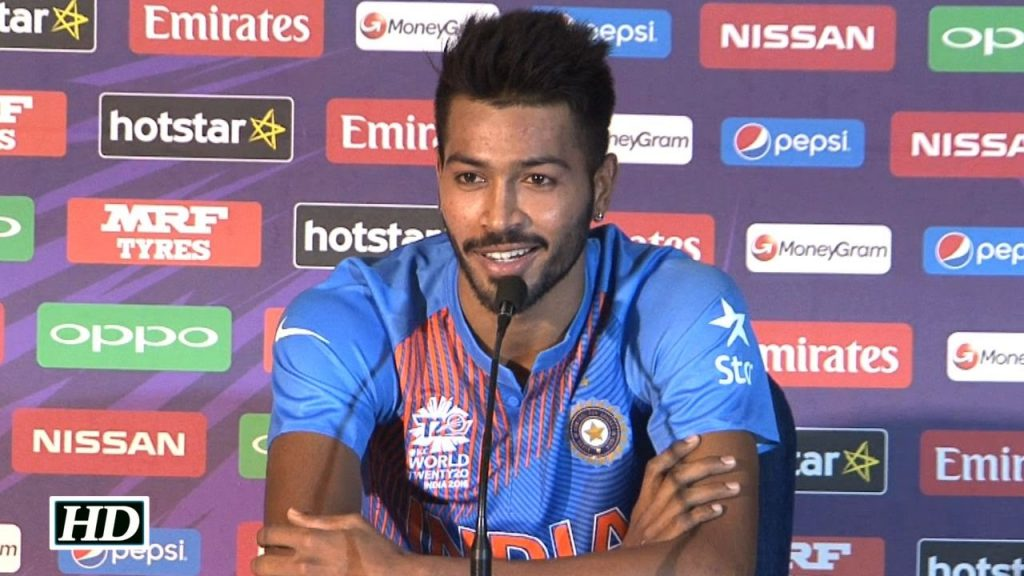 Hardik Pandya (Hairy, Superstar, Neymar of Indian cricket team)