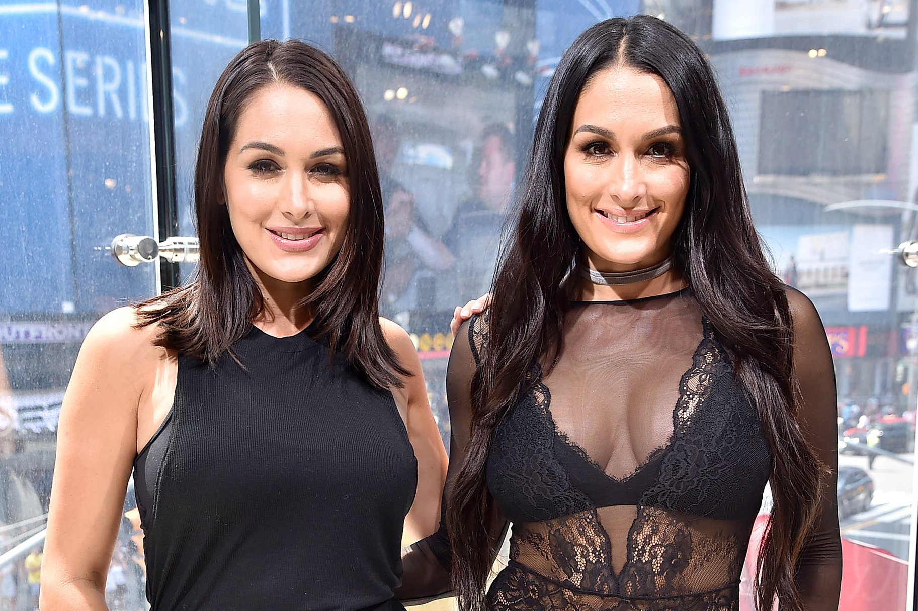 Nikki Bella and Brie Bella