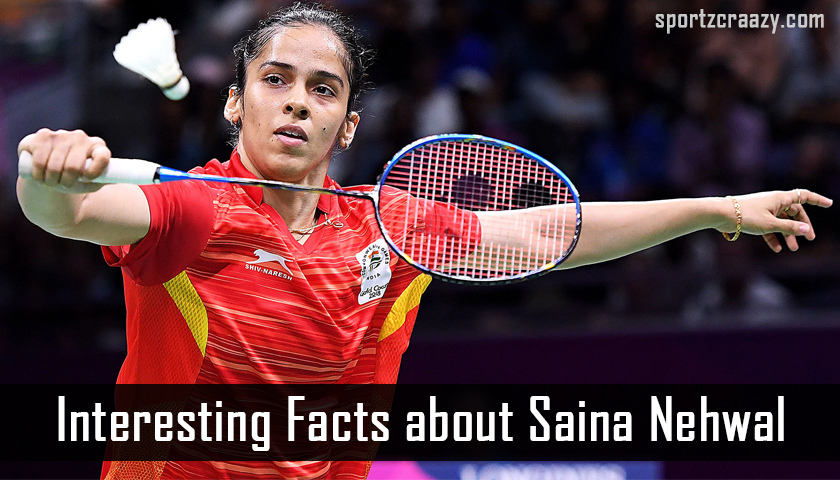 Interesting Facts About Saina Nehwal