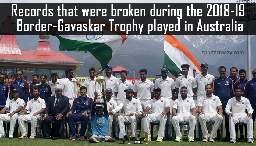 Records That Were Broken During The 2018-19 Border-Gavaskar Trophy
