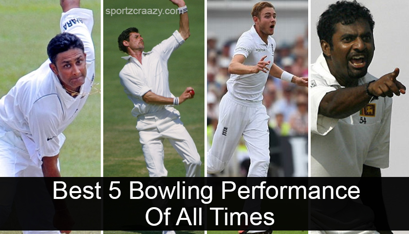 Best 5 Bowling Performance Of All Times