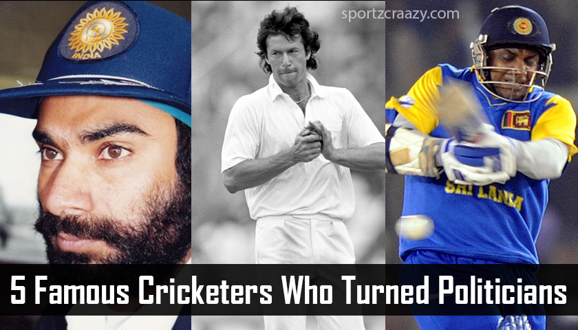 5 Famous Cricketers Who Turned Politicians