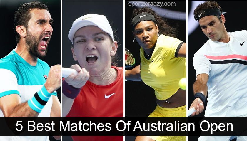 5 Best Matches Of Australian Open