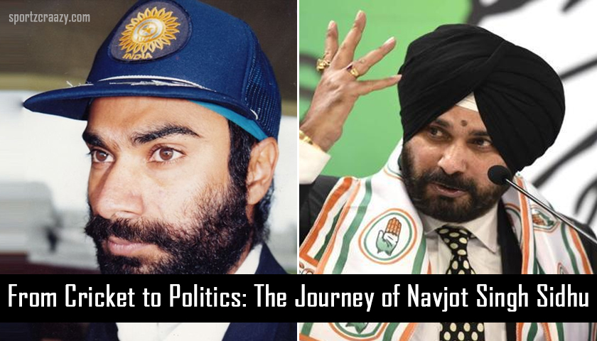 From Cricket to Politics: The Journey of Navjot Singh Sidhu