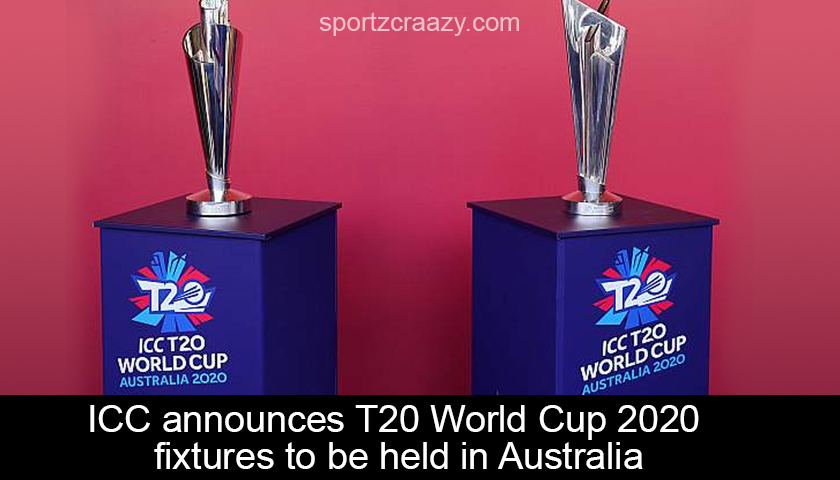 T20 World Cup 2020 fixtures