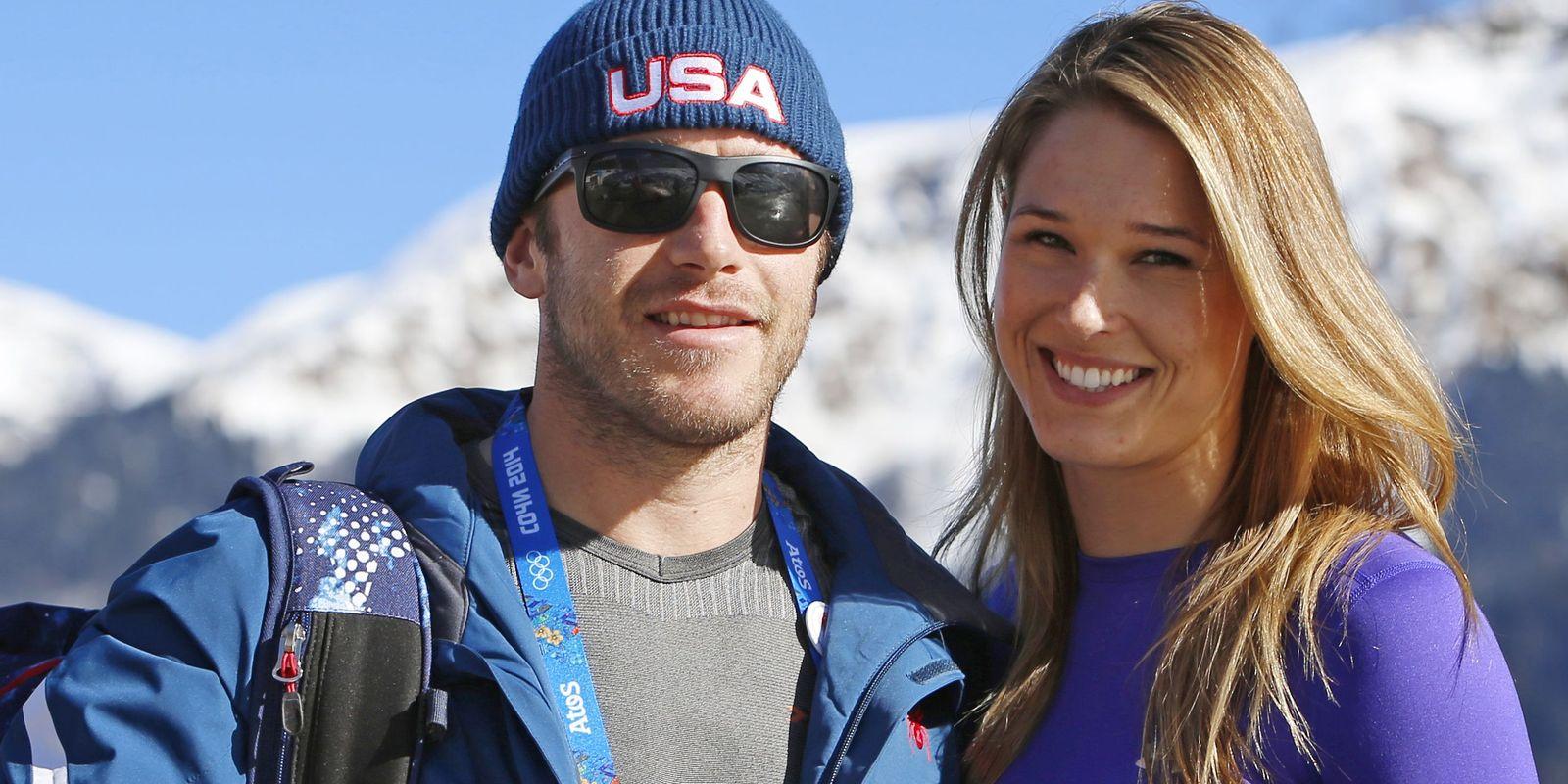 Bode Miller And Morgan Beck
