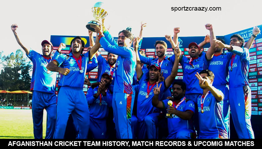 Afghanistan Cricket Team – Team History, Upcoming Fixtures and News