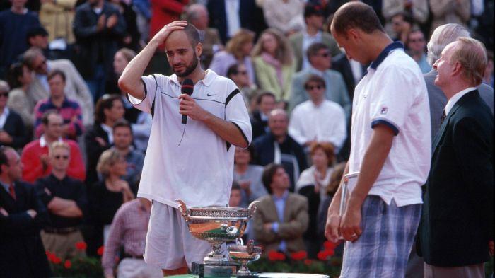 Andre Agassi vs Andrei Medvedev