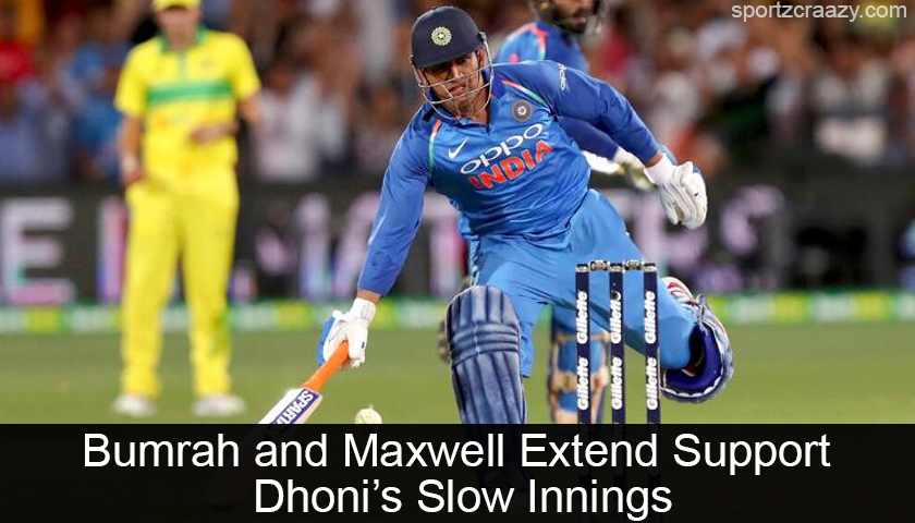 MS Dhoni's Slow Innings