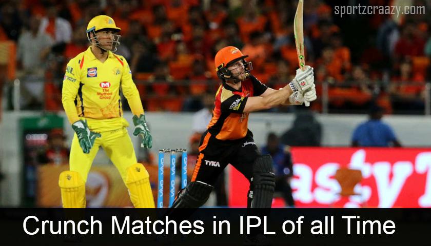 Crunch Matches in IPL