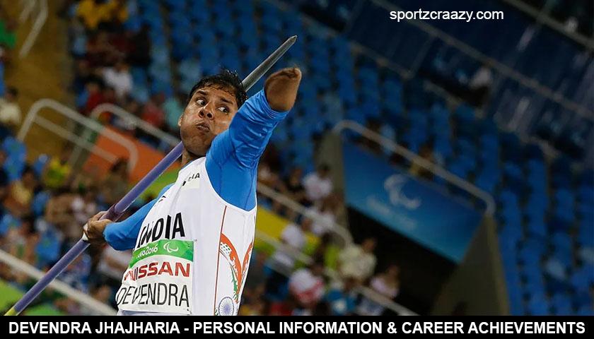 Devendra Jhajharia - Personal Information & Career Achievements