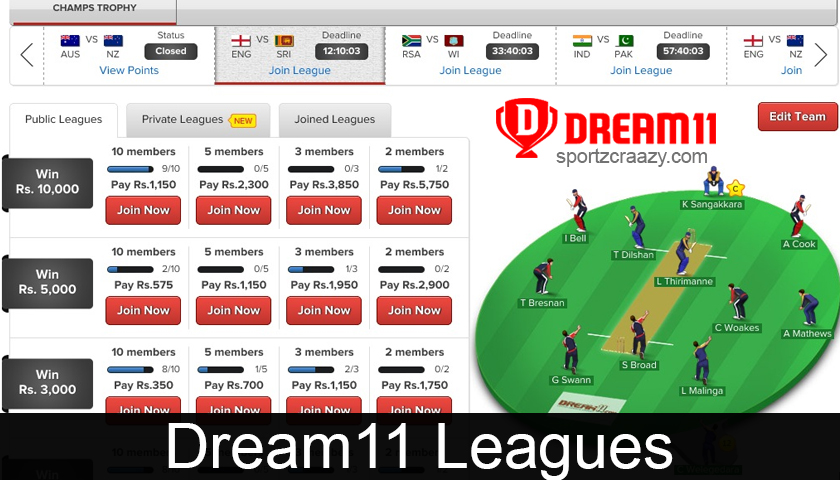 Dream11 Leagues