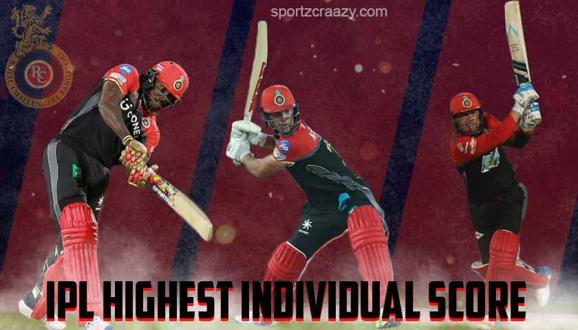 Highest Individual Score in IPL