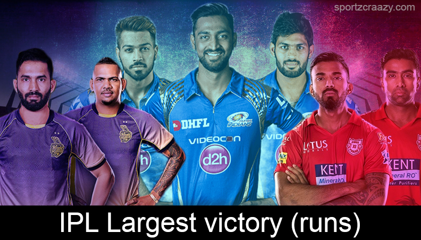 IPL Largest Victories