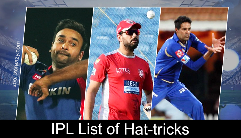 IPL List of Hat-Tricks