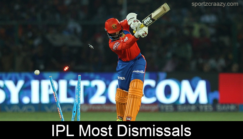 IPL Most Dismissals
